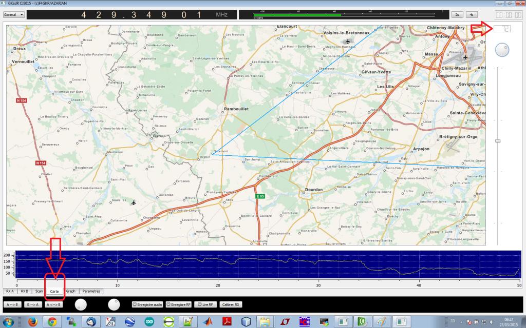 gkSDR cartographie