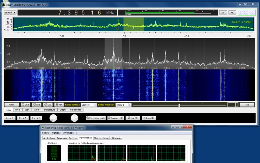 gkSDR et Perseus SDR