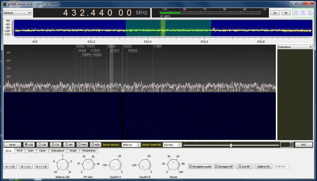 gkSDR RXA in V0.15